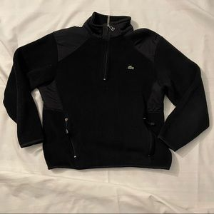 Lacoste Quarter Zip Fleece Jacket